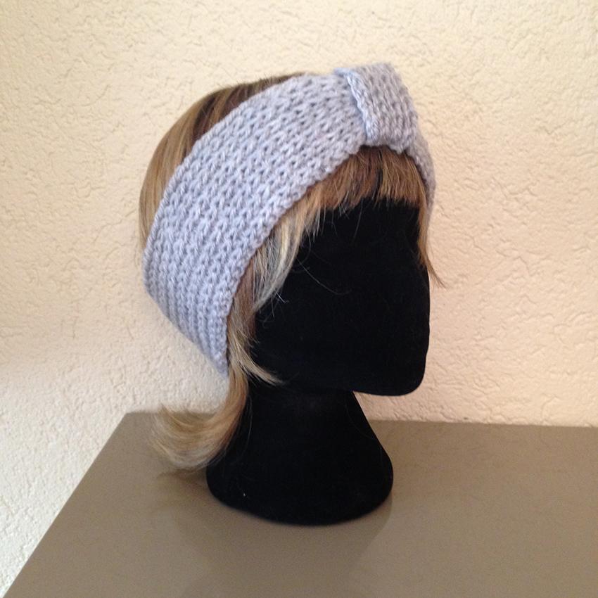 bonnet bandeau fait main accessoire la touche finale tricot