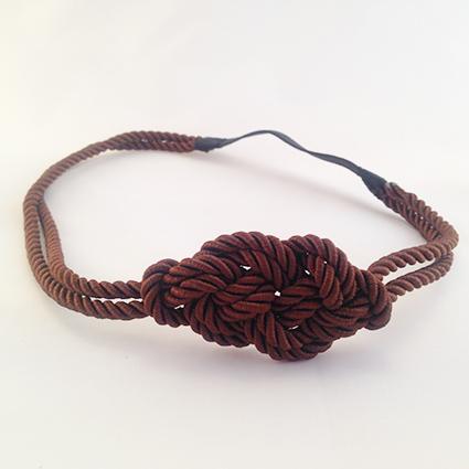 Headband Marin marron