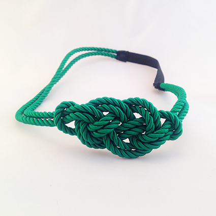 Headband Marin vert émeraude