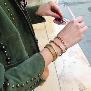 Bracelets La Touche Finale - Lunettes de soleil Topshop