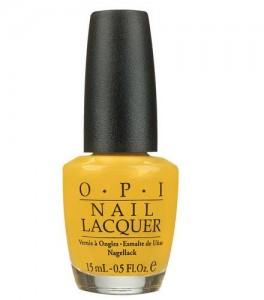 vernis jaune 264x300 - Une couleur : le jaune moutarde