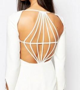 Robe Asos avec découpes dans le dos