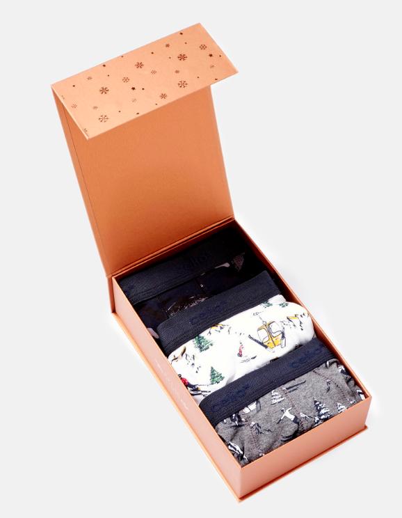 Un coffret de boxers (modèle : Celio - 25,99€)