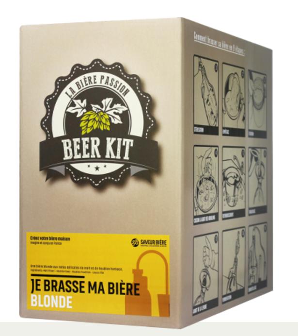 Kit pour faire de la bière à la maison