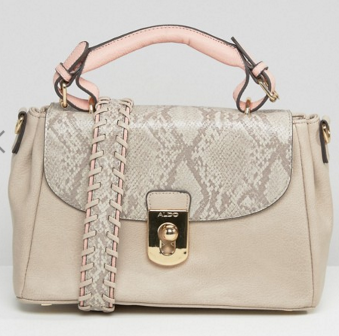 Un sac à main (modèle : Aldo sur Asos - 93,99€)