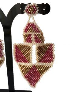 boucle d'oreille-fait main-fantaisie-artisanal-bijoux-la touche finale