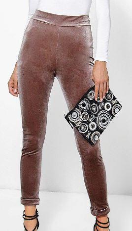 pantalon boohoo - Le velours fait son retour