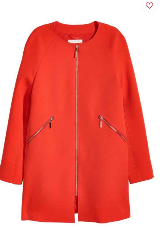 hm - Ma sélection de manteaux