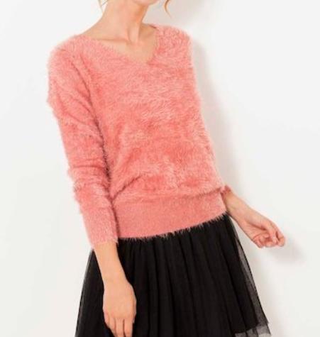 pull camaieu - Toutes en rose bonbon !