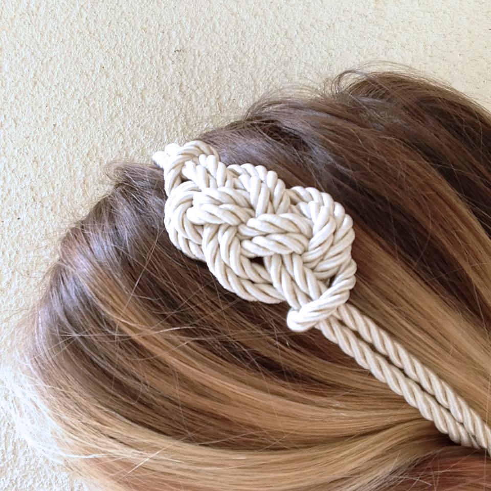 headband-marin-noeud-fait main-cente-achat-bijou-la touche finale