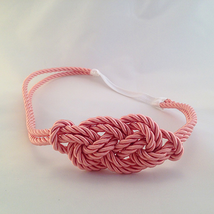 Headband Marin rose poudré