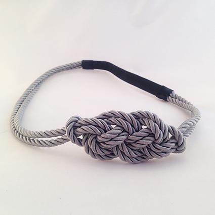 Headband Marin gris foncé