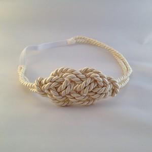 Headband Marin écru